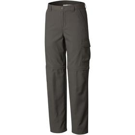 Columbia Silver Ridge III Convertible - Pantalones Niños - Oliva